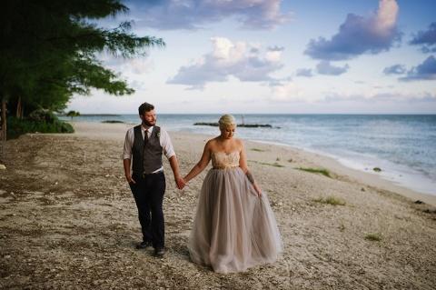 michelle & brandon | florida keys fort zachary taylor