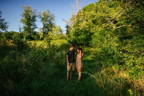 Intimate Lake Engagement Session Destination Wedding Photographers