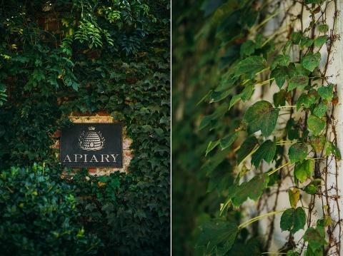 romantic garden wedding the apiary lexington, ky photographers